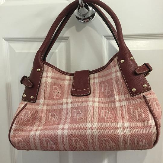 Dooney & Bourke Satchel in Maroon Image 1