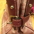 Dooney & Bourke Satchel in Maroon Image 5
