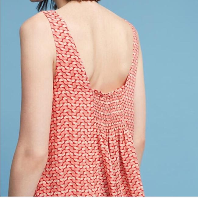 Anthropologie Top Red Image 1