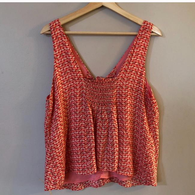 Anthropologie Top Red Image 6