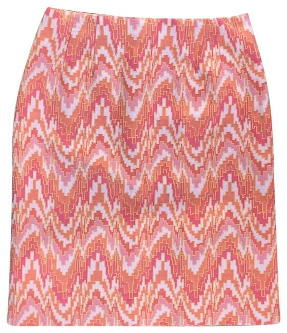 Preload https://img-static.tradesy.com/item/23776821/talbots-pink-and-orange-print-skirt-size-6-s-28-0-1-650-650.jpg