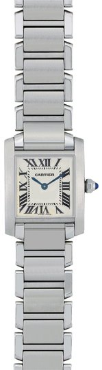 Preload https://img-static.tradesy.com/item/23776841/cartier-silver-tank-francaise-stainless-steel-w51008q3-watch-0-1-540-540.jpg