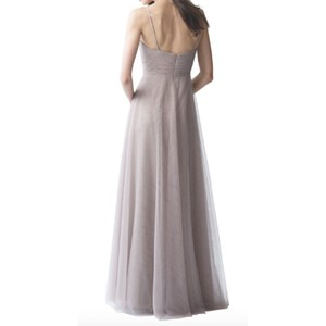 Jenny Yoo Serenity Blue Tulle Brielle Feminine Bridesmaid/Mob Dress Size 4 (S)