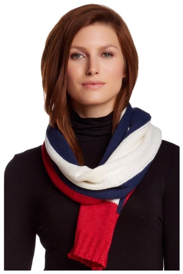 Preload https://img-static.tradesy.com/item/23776846/michael-stars-luxe-long-color-block-knit-scarfwrap-0-1-540-540.jpg