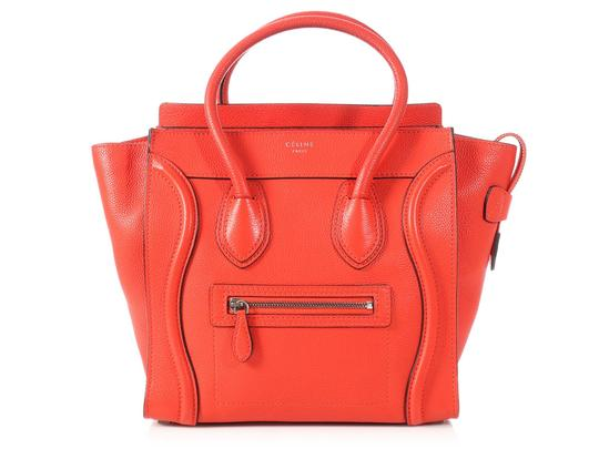 Preload https://img-static.tradesy.com/item/23777158/celine-luggage-micro-red-grained-leather-tote-0-0-540-540.jpg
