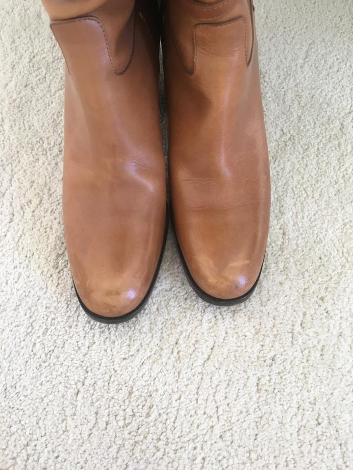 Boots Camel Ysl Saint Laurent Booties 8Pq4ZR