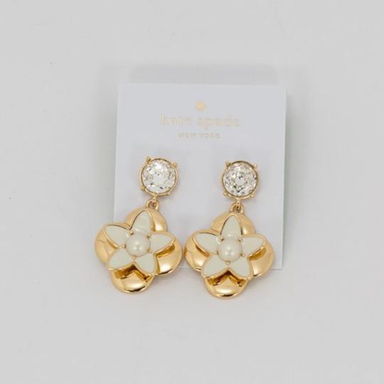 Kate Spade Window seat bouquet drop earrings Image 1