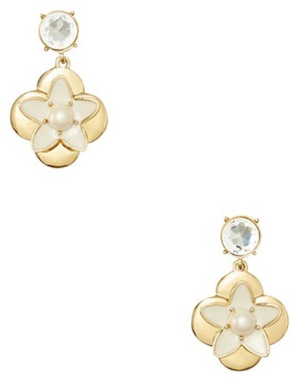 Kate Spade Window seat bouquet drop earrings Image 3