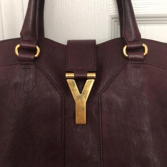 Saint Laurent Satchel in dark purple Image 1