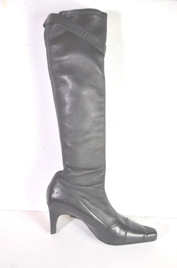 Chanel Black Boots Image 5
