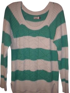 So Striped Longsleeve Hi/Lo Sweater