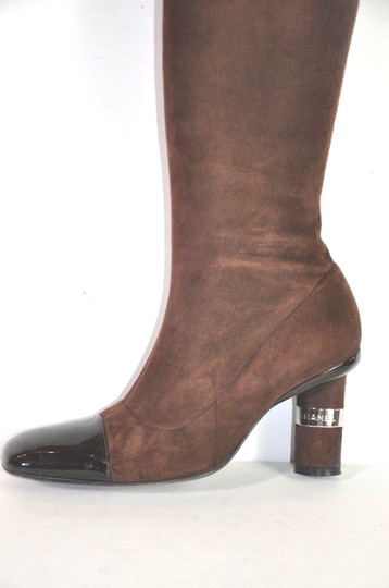 Chanel Brown Boots Image 1