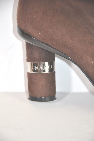 Chanel Brown Boots Image 10