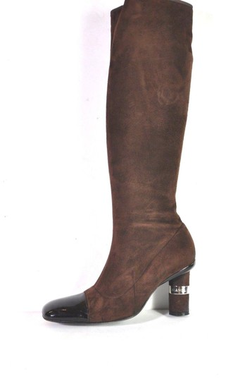 Chanel Brown Boots Image 2