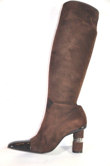 Chanel Brown Boots Image 3