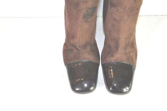 Chanel Brown Boots Image 6