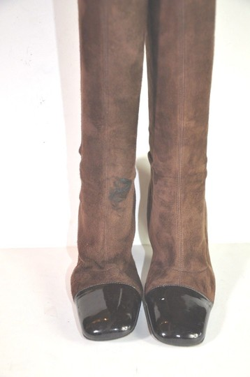 Chanel Brown Boots Image 7