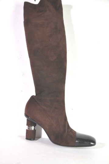 Chanel Brown Boots Image 8