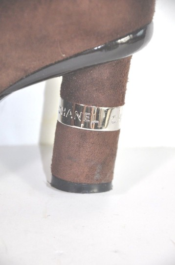 Chanel Brown Boots Image 9