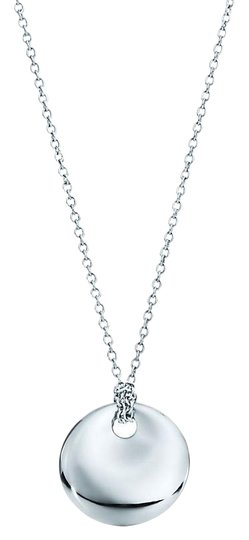 Preload https://img-static.tradesy.com/item/23777472/tiffany-and-co-peretti-sterling-silver-medium-disc-concave-necklace-0-1-540-540.jpg
