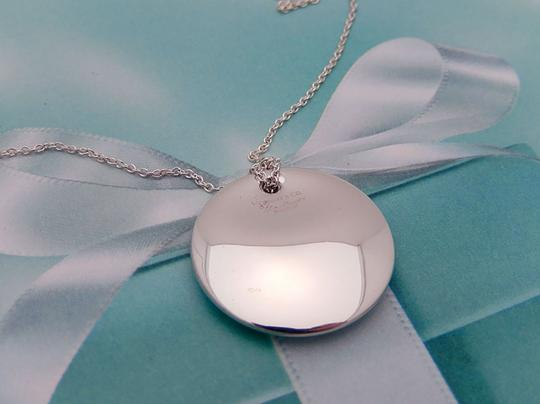 Tiffany & Co. Tiffany Peretti Sterling Silver Medium Disc Concave Necklace Image 1