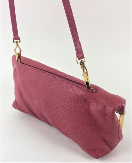 Burberry Prorsum Leather PINK Clutch Image 1