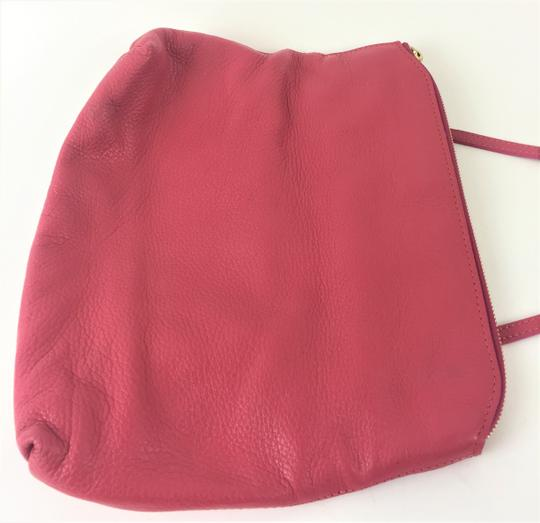 Burberry Prorsum Leather PINK Clutch Image 3