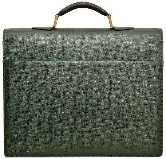 Louis Vuitton Briefcase Attache Taiga Leather Carry On Business Laptop Bag Image 1