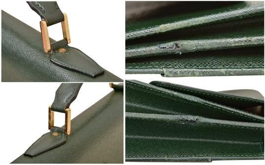 Louis Vuitton Briefcase Attache Taiga Leather Carry On Business Laptop Bag Image 7