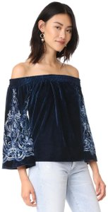 MISA Los Angeles Top Dark Blue