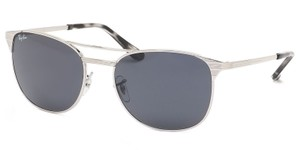 Ray-Ban New Ray Ban Unisex Sunglasses RB3429M 003/R5 Silver Frame Blue/Grey
