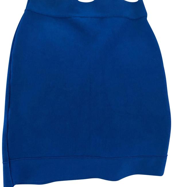 BCBGMAXAZRIA Mini Skirt blue Image 0