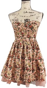 Sans Souci Floral Strapless Dress