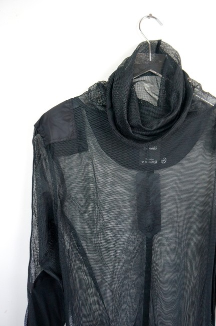Maharishi Sheer Trendy Ghostface Mesh Dress Image 3