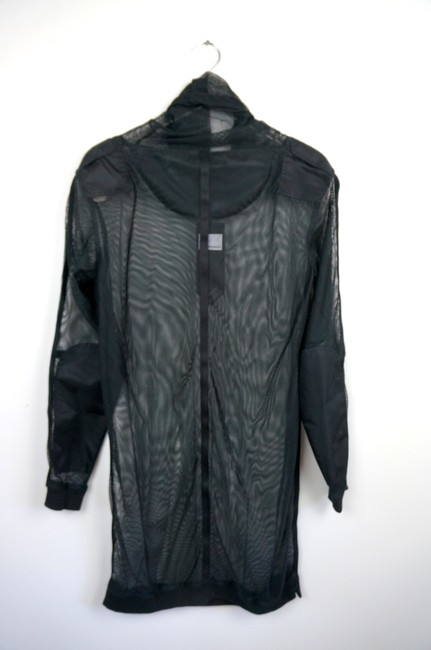 Maharishi Sheer Trendy Ghostface Mesh Dress Image 4