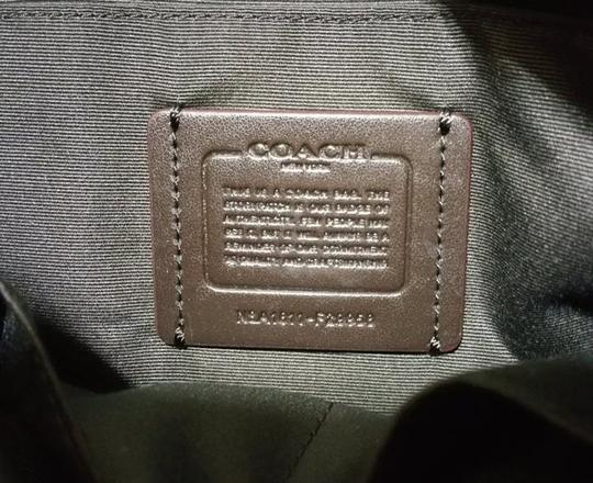 Coach Zip Top City City Tote in brown Image 3