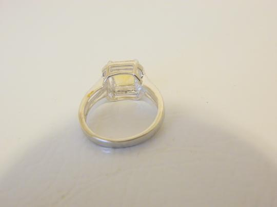 Other Sevilla Silver 2.35ctw Cushion-Cut Citrine Diamond Accented Ring 9 Image 4