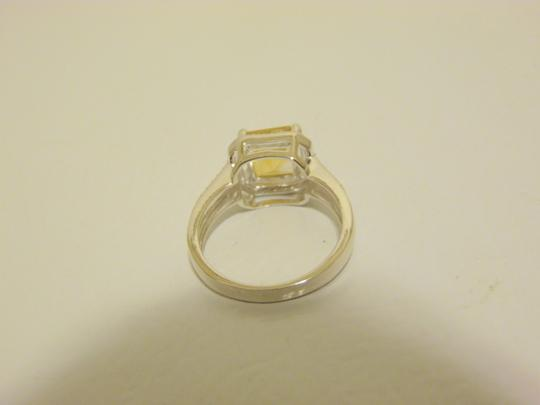 Other Sevilla Silver 2.35ctw Cushion-Cut Citrine Diamond Accented Ring 9 Image 9