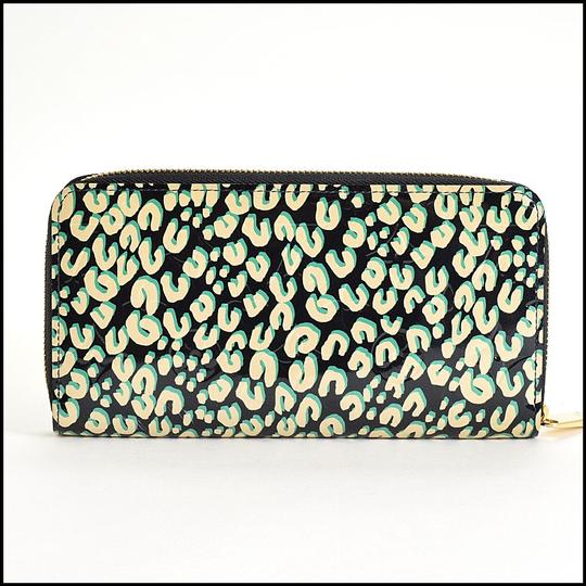 Louis Vuitton Louis Vuitton Ltd. Edition Vernis Stephen Sprouse Leopard Wallet Image 1