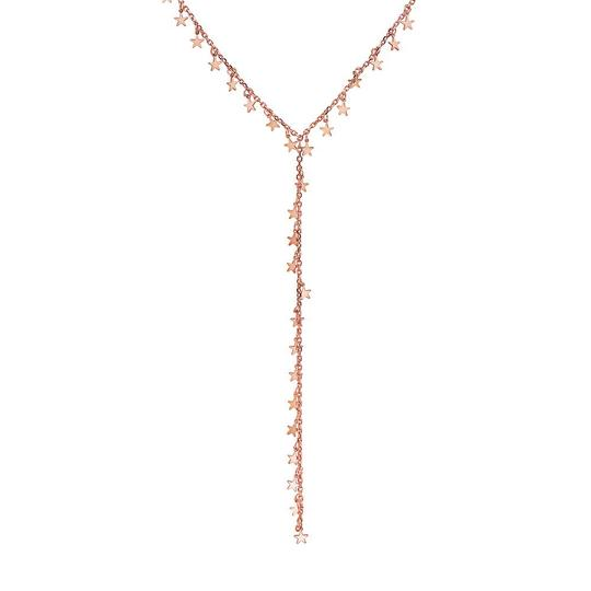 Preload https://img-static.tradesy.com/item/23778218/crush-and-fancy-rose-haley-925-sterling-silver-tone-lariat-star-necklace-0-0-540-540.jpg