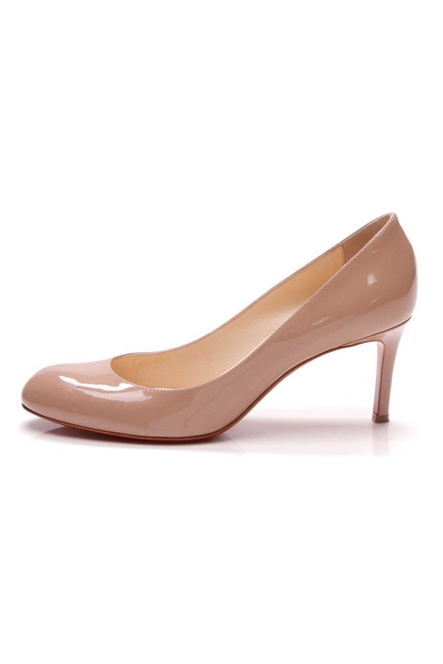 Simple Pumps Nude Beige Louboutin Christian qw7t61xOT