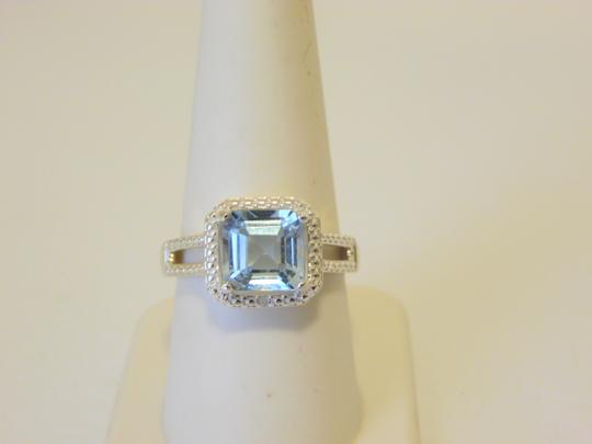 Other Sevilla Silver 3.35ctw Cushion-cut Blue Topaz Ring 9 Image 1