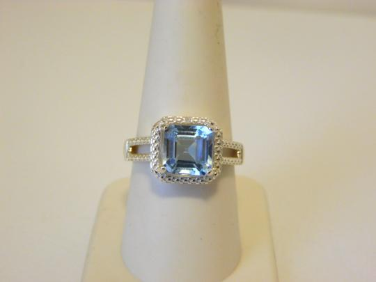 Other Sevilla Silver 3.35ctw Cushion-cut Blue Topaz Ring 9 Image 7