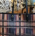Tory Burch To School Spring Large Tote in Plaid Image 2