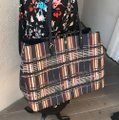 Tory Burch To School Spring Large Tote in Plaid Image 3