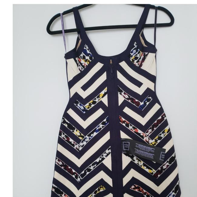 Preload https://img-static.tradesy.com/item/23778355/herve-leger-navy-blue-and-cream-multicolor-august-hph6w442-short-night-out-dress-size-8-m-0-4-650-650.jpg