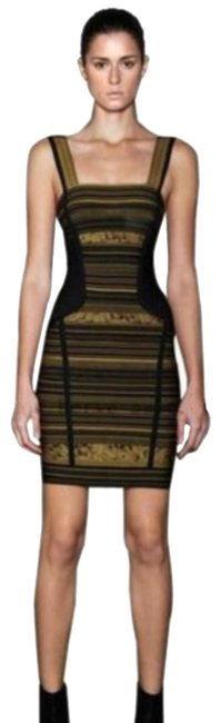 Preload https://img-static.tradesy.com/item/23778415/herve-leger-black-and-ochre-ophelia-hrm6j656-short-night-out-dress-size-8-m-0-3-650-650.jpg