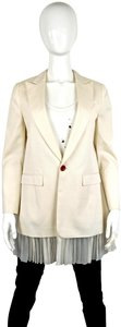 UNDERCOVER Japan Jun Takahashi Pleated Menswear white Blazer