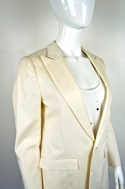 UNDERCOVER Japan Jun Takahashi Pleated Menswear white Blazer Image 4