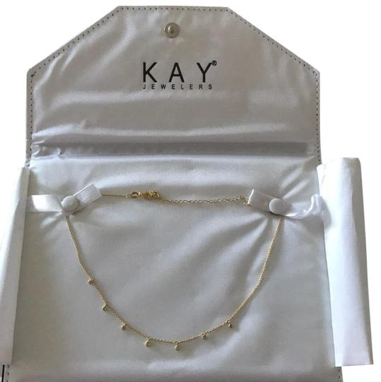 Preload https://img-static.tradesy.com/item/23778560/kay-jewelers-gold-diamond-34-ct-tw-necklace-0-1-540-540.jpg
